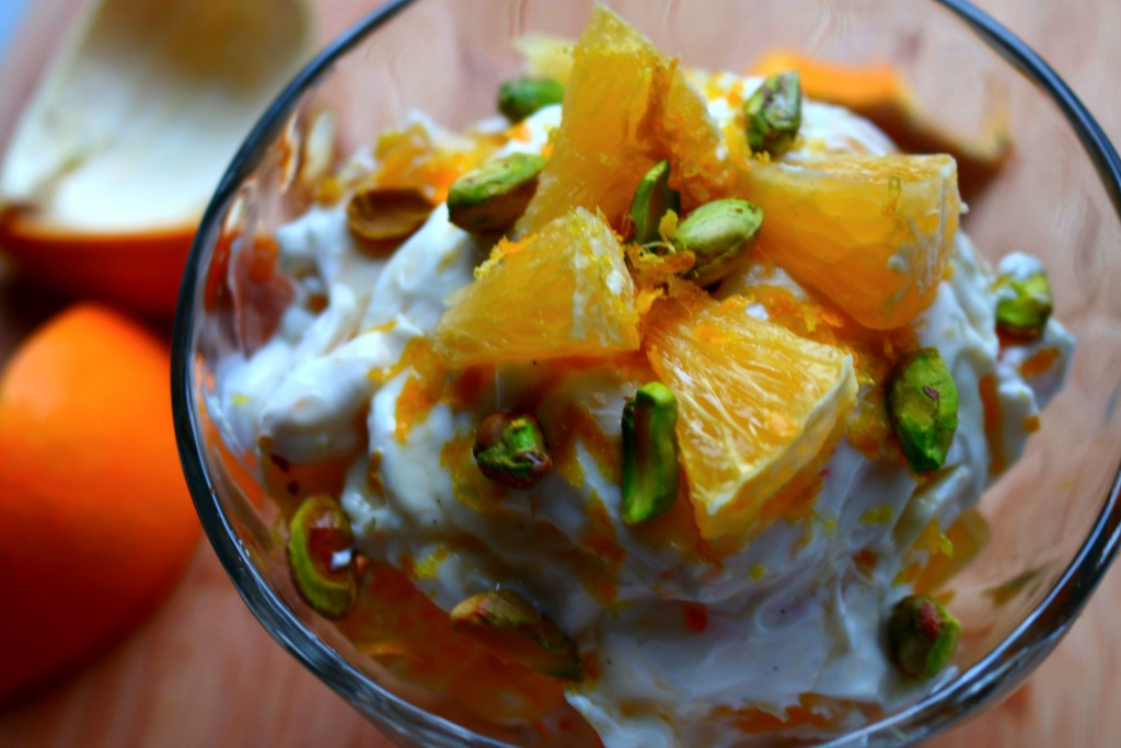 Vanilla Orange Pistachio Parfait Recipe - GrabSomeJoy.com