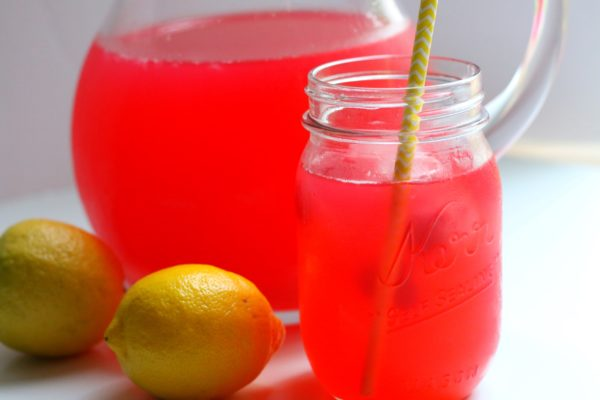 Raspberry Green Tea Lemonade - Grab Some Joy