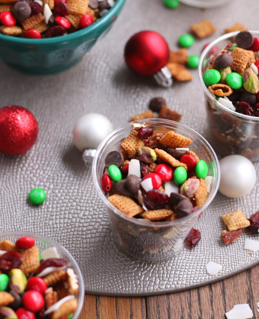 Christmas Party Chex Mix